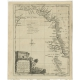 Antique Map of the Coast of Southwest Asia by Kitchin (c.1770)