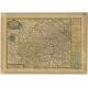 Antique Map of the Elbogen District by Schreiber (1749)