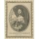 Antique Portrait of Anne of Austria (c.1651)