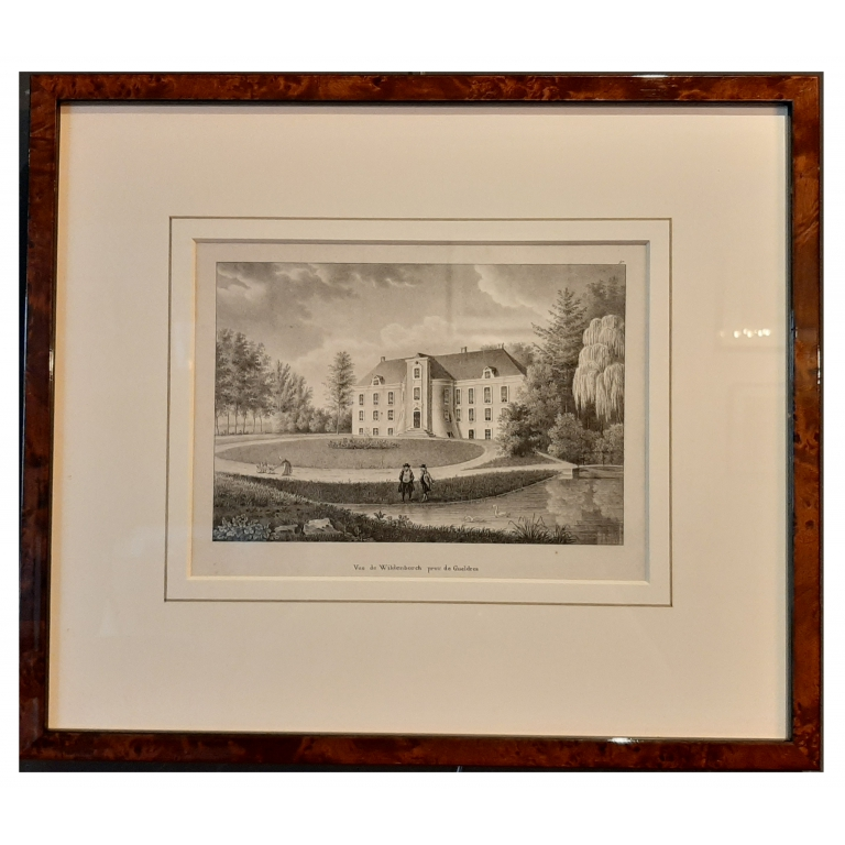 Antique Print of Wildenborch Castle by Jobard (c.1827)