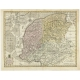 Antique Map of Friesland by Van Krevelt (1787)