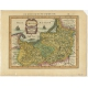 Antique Map of Prussia by Janssonius (1628)