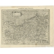 Antique Map of Prussia by Mercator (1632)