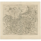 Antique Map of Prussia by Custodis (c.1630)