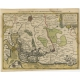 Antique Map of Flanders by Cloppenburgh (1630)
