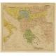 Antique Map of the Balkans (c.1900)