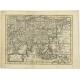 Antique Map of Asia by Gravius (1788)