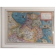 Antique Map of Friesland by Bussemacher (c.1592)