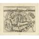 Antique Map of the City of Sint-Maartensdijk by Smallegange (c.1696)