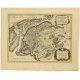 Antique Map of Friesland by Jaillot (1709)