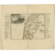Antique Map of the West-Frisian part of independent Friesland by Halma (1718)
