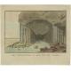 Antique Print of Fingal's Cave by Van Kesteren (1805)